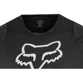 Fox Defend Moth Lyhythihainen Jersey Miehet, black